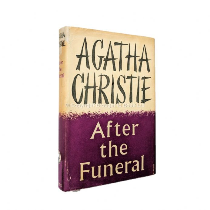 After the Funeral by Agatha Christie First Edition The Crime Club by Collins 1953